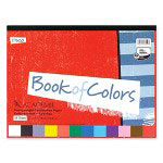 "Mead Construction Paper Book, 12""x9"", 48 Sheets, Assorted"