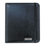 "Mayline Basic iPad Case, Simulated Leather, 9-1/8"" x 1-1/8"" x 10-1/2"", Black"