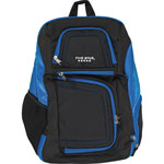 "Mead Backpack, Insulated Storage, 13""Wx8""Lx19""H, Blue/Black"