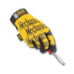 Mechanix Wear Original Glove Yellow/XLarge