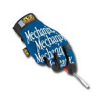 Mechanix Wear Original Gloves, Medium, Blue