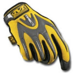 Mechanix Wear Yellow M-Pact Gloves Size Medium
