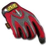 Mechanix Wear Red M-Pact Gloves Size Medium