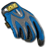 Mechanix Wear Blue M-Pact Gloves Size Small