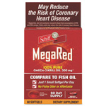MegaRed® Omega-3 Krill Oil Softgel, 60 Count