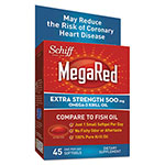 MegaRed® Omega-3 Krill Oil Softgel, 45 Count, 12/Carton