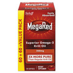 MegaRed® Omega-3 Krill Oil Softgel, 120/Bottle