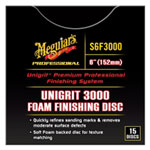 "Meguiars Unigrit 6"" P3000 Foam Finishing Disc - 15 Pack"