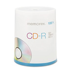 Memorex CD-R Discs, 700Mb/80Min, 52x, Spindle, Silver