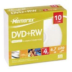 Imation DVD+Rw, 4X, 4.7GB, Jewel Case