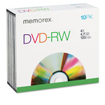 Imation DVD-RW, 4X, 4.7Gb, With Jewel Cases
