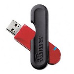 Imation 2GB USB 2.0 Traveldrive, Red