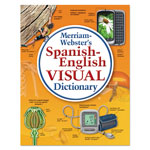Merriam-Webster Spanish-English Visual Dictionary, Paperback, 1152 Pages