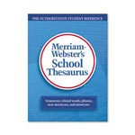 Merriam-Webster School Thesaurus, Grades 9-11, Hardcover, 704 Pages