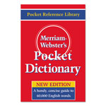 Merriam-Webster Pocket Dictionary, Paperback, 416 Pages