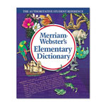 Merriam-Webster Elementary Dictionary, Grade 2-4, Hardcover, 624 Pages