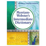 Merriam-Webster Intermediate Dictionary, Grades 6-8, Hardcover, 1,024 Pages