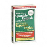 "Merriam-Webster Spanish English Dictionary, Paperback, 4 3/16""x6 7/8"""