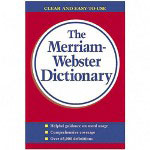 "Merriam-Webster Paperback Dictionary, 960 Pages, 4 3/16""x6 7/8"""