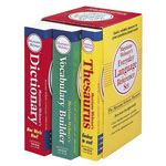 "Merriam-Webster Language Reference Set, Paperbacks with Slipcase, 4 1/4"" x 7"""
