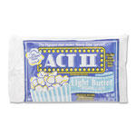 Classic Coffee Concepts Act II Micro Popcorn, 36/BX, Light Butter