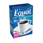 Classic Coffee Concepts Equal Sugar Substitute, 100/BX