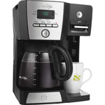 "Classic Coffee Concepts 12-Cup Coffee Maker, 10-3/5""Wx8-3/5""Dx13-13/20""H"