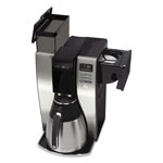 Classic Coffee Concepts Coffee Maker, Thermal, 10-Cup, Black/Silver