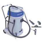 Mercury Floor Machines Mercury Storm Wet/Dry Tank Vacuum, Dual Motor, 20 Gallon Poly Tank, Gray