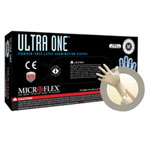 Micro Flex Ultra One Powder Free, Latex Extended Cuff Examination Gloves - Medium