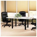 Hon Rectangular Conference Tables, Top Component, Medium Oak,