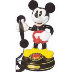 Telemania Mickey Mouse Character Phone