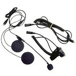 Midland Radio Open Face Helmet Headset Kit w/Boom Mic