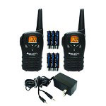 Midland Radio LXT112VP 22-Channel 14-Mile 2-Way GMRS Radio with Rechargeable Batteries and Wall Charger