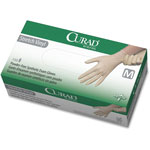 Curad Synthetic Vinyl Exam Gloves, Powder-Free, Medium, 150/Box