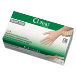 Curad Synthetic Vinyl Exam Gloves, Powder-Free, Large, 150/Box