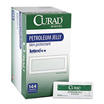 Curad Petroleum Jelly, 0.18 oz Foil Packet, 144/Box