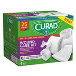 Curad Wound Care Kit: Gauze, Non-Stick Pads and Paper Tape