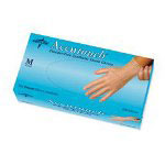 Medline Accutouch® Small Powder-Free Medical Vinyl Gloves, Box of 100