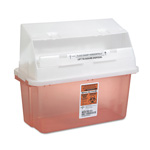 Medline Sharp 5 Quart Containers, Freestanding & Wall Mountable
