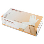 Medline MG1204 Accucare Powdered Latex Exam Gloves, Small