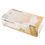 Medline MG1205 Accucare Powdered Latex Exam Gloves, Medium