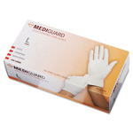 Medline MG1206 Accucare Powdered Latex Exam Gloves, Large