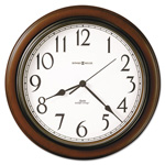 Howard Miller Clock Talon Wall Clock, 15-1/4in, Cherry