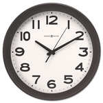 Howard Miller Clock Kenwick Wall Clock, 13-1/2in, Black
