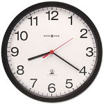 Howard Miller Clock Vero Wall Clock, 12-1/4in, Black