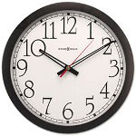 Howard Miller Clock Odyssey Wall Clock, 16in, Black