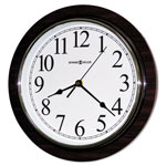 "Howard Miller Clock Rosewood Wall Clock, 11 3/4"", Faux Cherry Wood"