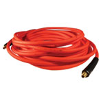 "Milton Milton Hybrid PVC Red Hose, 1/4"" X 25' With 1/4"" NPT"
