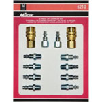 Milton 12 Piece M-Style Coupler Kit